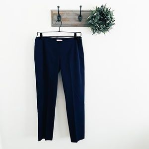 Lilly Pulitzer Navy Tapered Dress Pants 4